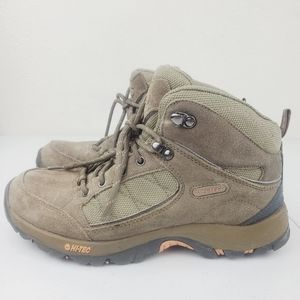 Hi Tec Kuleni Mid Waterproof Hiking Boots Taupe